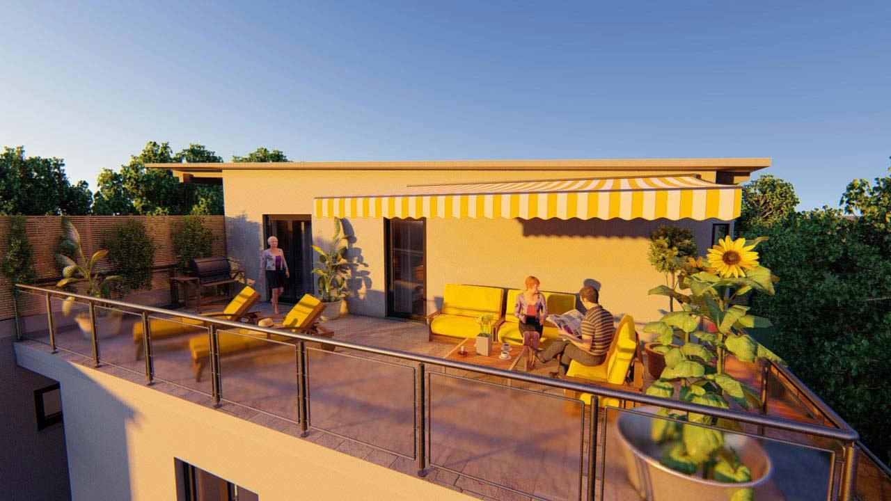 Wohnprojekt Mariatrost - Slider 3